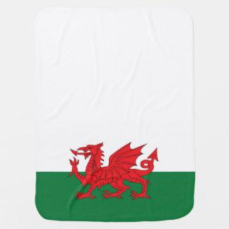 ウェールズのドラゴンのベビーブランケット ベビー ブランケット