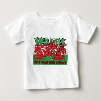 ウェールズのドラゴン、グランドスラムの勝者2012年 ベビーTシャツ