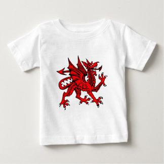 ウェールズのドラゴン ベビーTシャツ