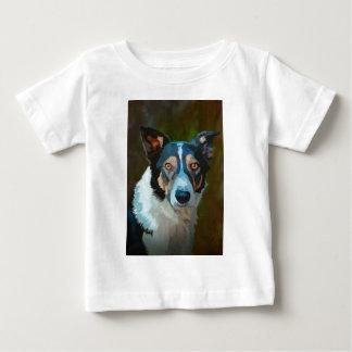 ウェールズのボーダーコリー ベビーTシャツ