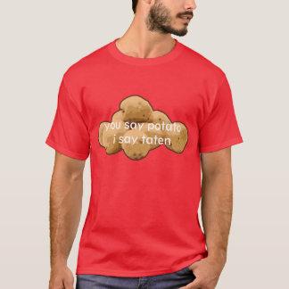 ウェールズのポテト Tシャツ