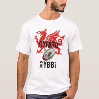 ウェールズのラグビーのTシャツ Tシャツ
