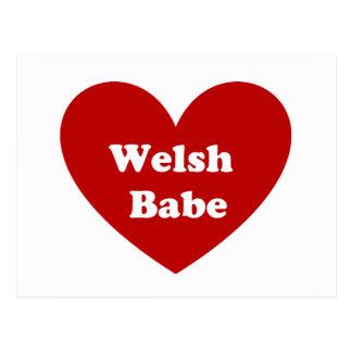ウェールズの可愛い人 ポストカード