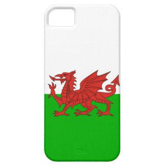 ウェールズの国のドラゴンの旗ウェールズイギリス iPhone SE/5/5s ケース