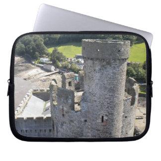 ウェールズの城 ラップトップスリーブ