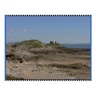 ウェールズの干潮 ポストカード