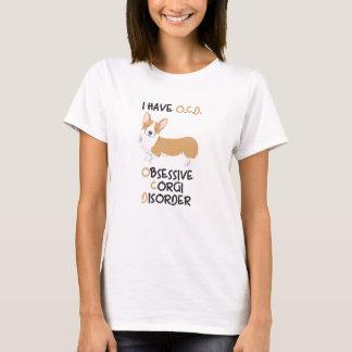 ウェールズの幸せなペンブローク-執拗なコーギーの無秩序 Tシャツ