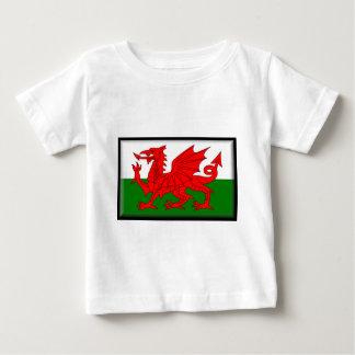 ウェールズの旗 ベビーTシャツ