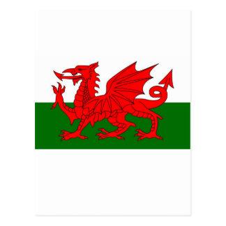 ウェールズの旗 ポストカード