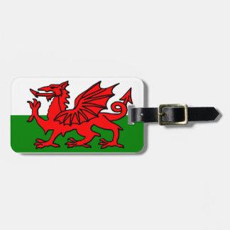 ウェールズの旗 ラゲッジタグ