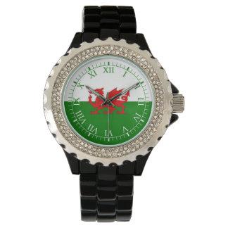 ウェールズの旗 腕時計