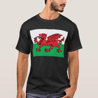 ウェールズの旗 Tシャツ