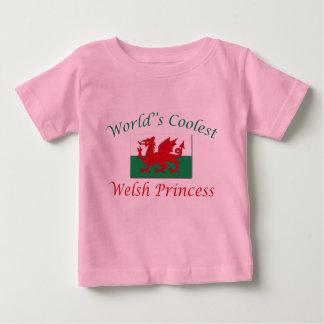 ウェールズの最もクールなプリンセス ベビーTシャツ