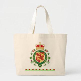 ウェールズの王室のなバッジ ラージトートバッグ
