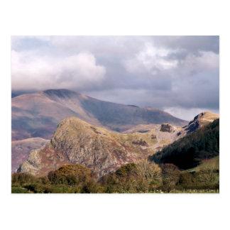 ウェールズの眺め ポストカード