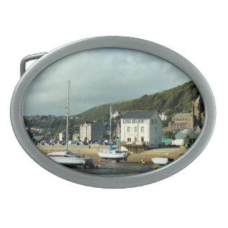 ウェールズの眺め 卵形バックル