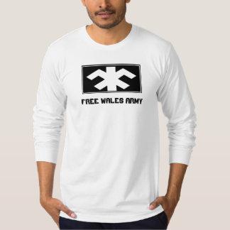 ウェールズの自由な軍隊 Tシャツ