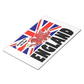 ウェールズの赤いドラゴン ノートパッド