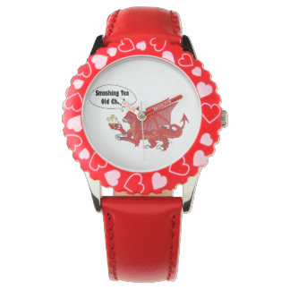 ウェールズの赤いドラゴン 腕時計