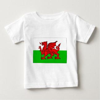ウェールズ旗 ベビーTシャツ