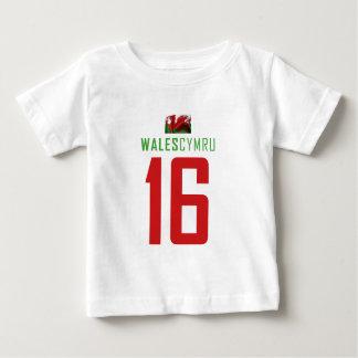 ウェールズ ベビーTシャツ