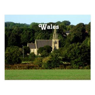 ウェールズ ポストカード