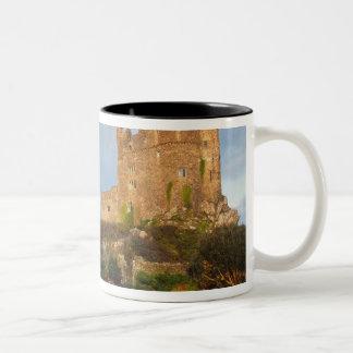 ウェールズ- St.の近くのウェールズの私用城 ツートーンマグカップ