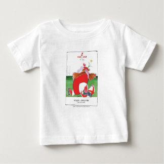 ウェールズvイギリスの球-贅沢なfernandesからの… ベビーTシャツ
