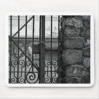 ウエストエンドのエドワード古いD Libbeyの家のゲート マウスパッド
