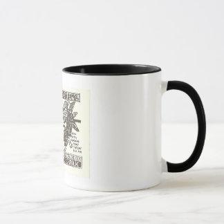 ウエストエンドのカフェ、ノーフォークVA マグカップ