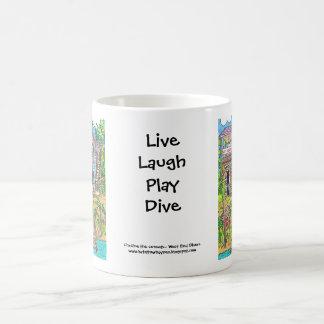 ウエストエンドのダイバーのマグ コーヒーマグカップ