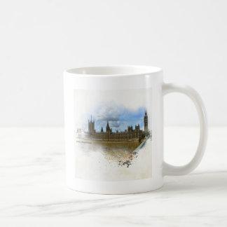 ウエストミンスターの芸術の宮殿 コーヒーマグカップ