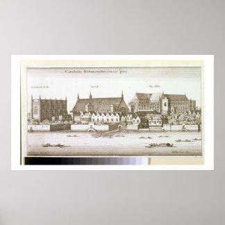 ウエストミンスターの部、1647年(版木、銅版、版画) ポスター