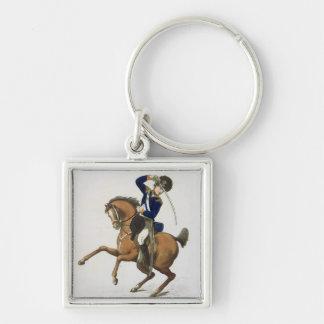 ウエストミンスターの騎兵隊のボランティアは、「忠節からの4つをめっきします キーホルダー