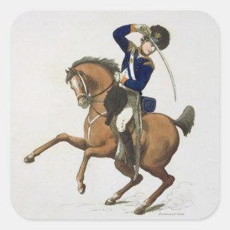 ウエストミンスターの騎兵隊のボランティアは、「忠節からの4つをめっきします スクエアシール