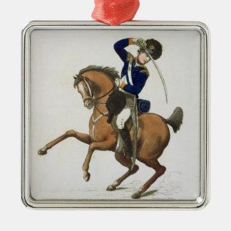 ウエストミンスターの騎兵隊のボランティアは、「忠節からの4つをめっきします メタルオーナメント