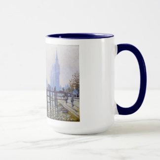 ウエストミンスタークロード・モネのテムズ マグカップ
