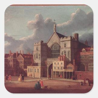 ウエストミンスターホールおよび新しい宮殿のヤード スクエアシール