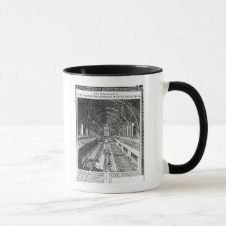 ウエストミンスターホールの即位の宴会 マグカップ