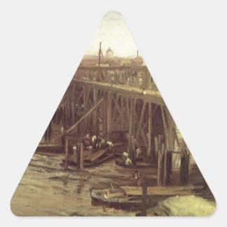 ウエストミンスター古いジェームスMcNeillのホイスラーの最後 三角形シール