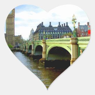ウエストミンスター橋、ロンドンイギリス ハートシール