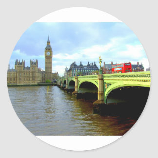 ウエストミンスター橋、ロンドンイギリス ラウンドシール