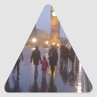 ウエストミンスター橋 三角形シール