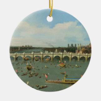 ウエストミンスター橋、主市長が付いているロンドン、 セラミックオーナメント