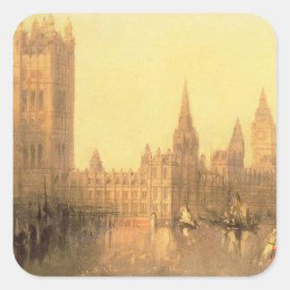 ウエストミンスター: 議会、c.1860 (油の家 スクエアシール