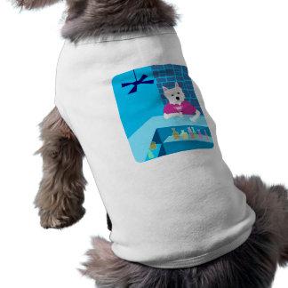 ウエスト・ハイランド・ホワイト・テリアのマルティーニのバー ペット服