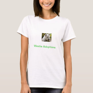ウエスト・ハイランド・ホワイト・テリアの採用のTシャツ Tシャツ