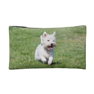ウエスト・ハイランド・ホワイト・テリア、westie犬のかわいい写真 コスメティックバッグ