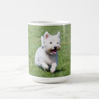 ウエスト・ハイランド・ホワイト・テリア、westie犬のかわいい写真 コーヒーマグカップ