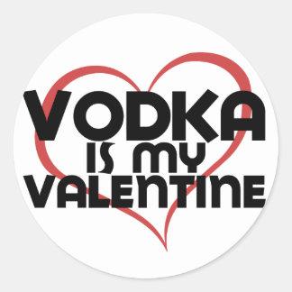 ウォッカは私のバレンタインです ラウンドシール
